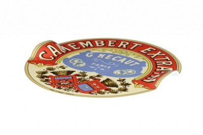 BIA Classic Camembert Design Cheese Platter with Raised Handles