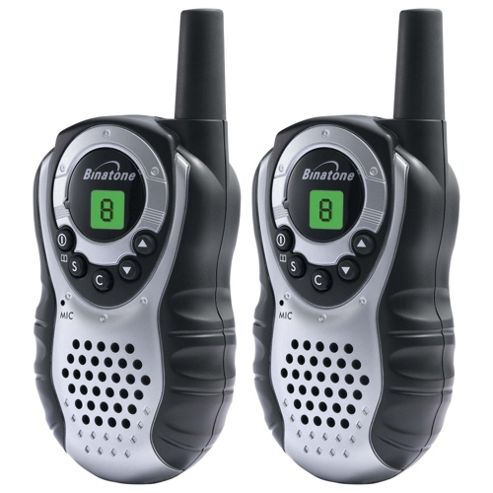 Binatone Latitude 150 Two Way Radio - Silver/Black