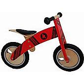 Kiddimoto Kurve Balance Bike (Red Tyre)
