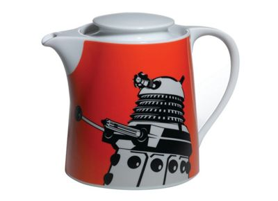 BBC Doctor Who *ORANGE TEAPOT*