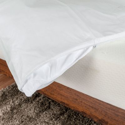 Homescapes Polypropylene Waterproof Duvet Protector, Super King