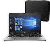 "HP 250 G6 15.6"" Laptop Intel Core i5-7200U 8GB 256GB SSD Win 10 Pro with HP Sleeve"