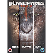 Planet Of The Apes Trilogy Boxset DVD