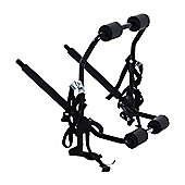 Outsunny 1 Bicycle Carrier Car Back Rack Fix Strap Folding Foldable - Black