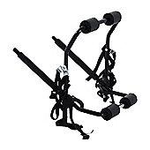 Outsunny 1 Bicycle Carrier Car Back Rack Fix Strap Folding Foldable - Black