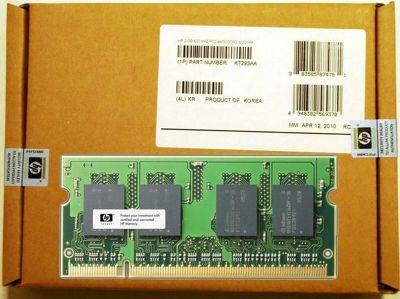 Hewlett-Packard 2GB (800MHz) PC2-6400 DDR2 SODIMM Memory Module