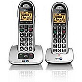BT 4000 Big Button DECT Cordless Telephone Handsfree Twin-Pack