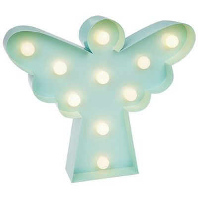 Love Lights LED Angel Light Battery Operated Novelty Lamp