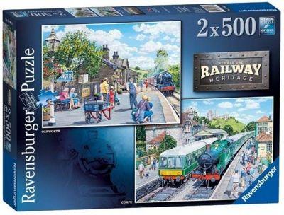 Railway Heritage No1 - 2x500pc Puzzle