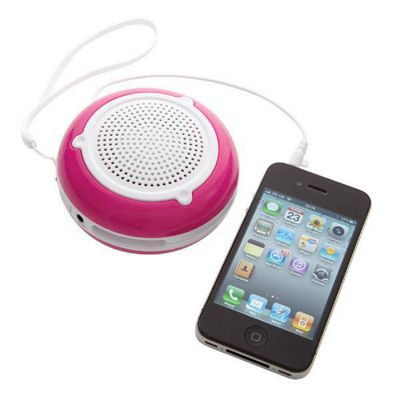 Groov-e GVSP200/PINK GoGo Rechargeable Speaker for iPod, iPhone and MP3 - Pink