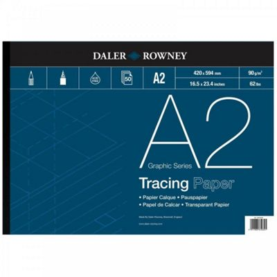 Daler Rowney Tracing Gummed Pad - 90gsm - A2 - Art Store