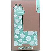 Tilly Giraffe Make-Up Kit - 18 x Eyeshadow + 2 x Blush + 3 x Lipgloss + 2 x Applicator