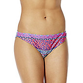 F&F Tile Print Narrow Bikini Briefs - Multi