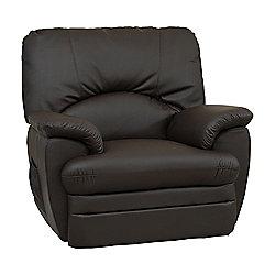 Sofa Collection Geneva Electric Reclining Armchair - Brown