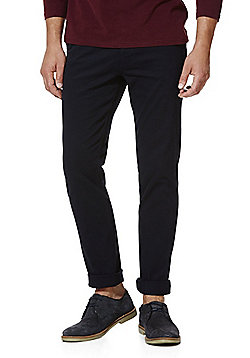 F&F Stretch Slim Leg Chinos - Navy