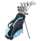 Palm Springs Golf Visa V2 Ladies Right Hand All Graphite Golf Club Set With Bag