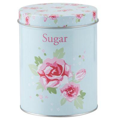 English Rose Sugar Storage Canister
