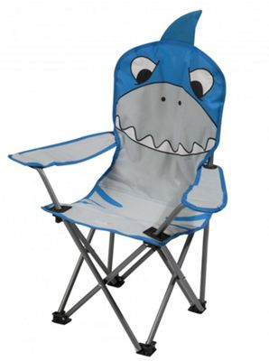Regatta Animal Kids Camping Chair - Shark Blue