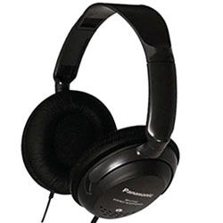 Panasonic RP-HT225 Wired Stereo Headphone - Black