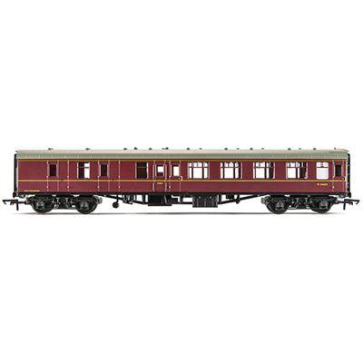Hornby Coach R4352 Br Mk1 Brake 3Rd Maroon - Railroad