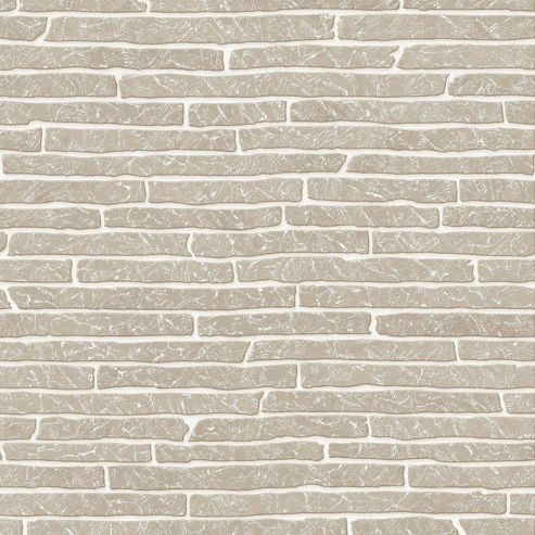 Superfresco Easy Grey Briquette Wallpaper