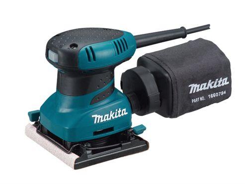 Makita BO4556 Palm Sander & Clamp 200 Watt 110 Volt