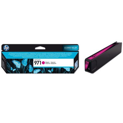 HP 971 Magenta Ink Cartridge (Yield 2500 Pages) for OfficeJet Pro X Series Printers