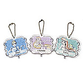 Disney Princess Personalised Water Colour Keyring
