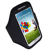 time2 Sports Armband Cover for Samsung Galaxy S4 - Black