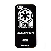 Star Wars Rogue One Empire Personalised Black iPhone 5/5s Cover