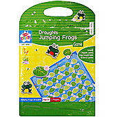 Kids Create Magnetic Jumping Frog Draughts Game