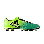 adidas X 16.4 FxG Firm Ground Boots - SGreen - Green