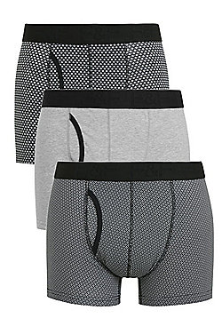 F&F 3 Pack of Tile Print Trunks with As New Technology - Multi