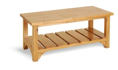 Oceans Apart Fox River Pine Low Coffee Table
