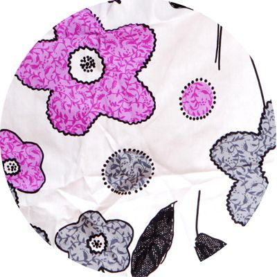 Palm and Pond Ring Sling Baby Carrier - Purple/Grey Floral