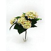 Artificial - Hydrangea Bush - Cream