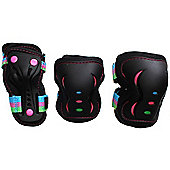 SFR Essentials Triple Padset - Disco - Medium (age 7-9)