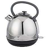 Tesco Traditional Kettle, 1.7L - Stainless Steel