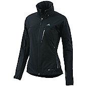 adidas Terrex Windstopper Fast Outdoor Womens Jacket Black - Black
