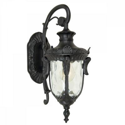 Black Small Wall Lantern - 1 x 100W E27