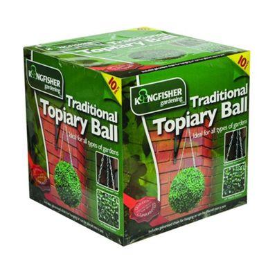 Kingfisher Hanging Topiary Ball 27cm