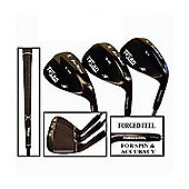 Texan Golf Gun Metal 3 Wedge Set 56-60-64 Loft