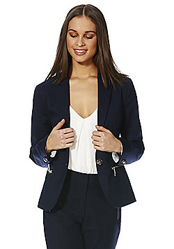 F&F Zip Pocket Jacket - Navy