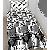 Star Wars The Force Awakens Duvet Cover Set - Black & White