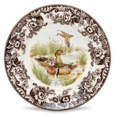 Spode Woodlands Wood Duck Salad Plate 20cm