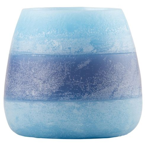 Rustic Bowl Candle Navy, Large