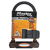 Master Lock Street Fortum Gold Sold Secure D Lock 210x110mm Black