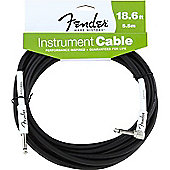 Fender Straight to Angled Jack Instrument Cable - 5.5m