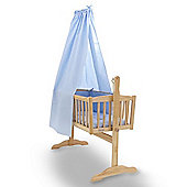 Clair de Lune Cot & Crib Freestanding Drape Set (Blue)