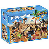 Playmobil 5387 History Tomb Raiders Camp